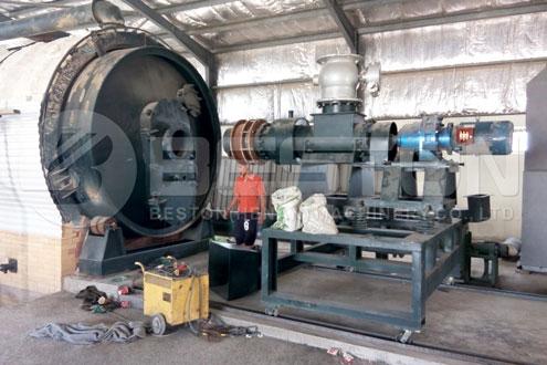 Tire Pyrolysis Equipment