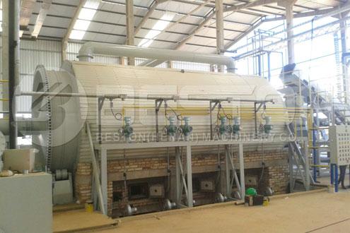 Tire Pyrolysis Machine