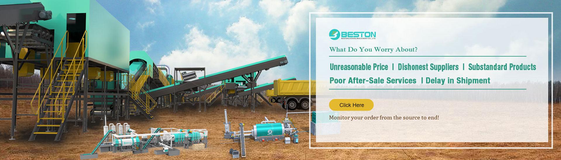 Beston Machinery mall banner