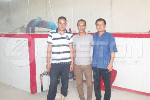 Engineer for Installing Egg Carton Machine in Algeria