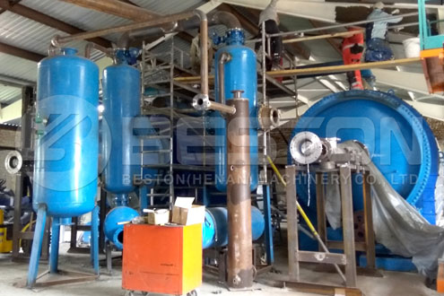 Small Pyrolysis Plant with Two Reactors Installed in Hungary