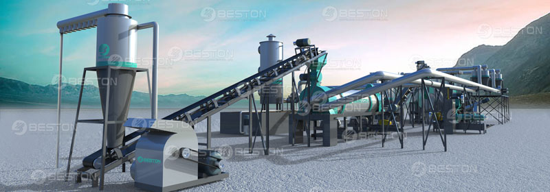Sawdust Charcoal making Machine for Sale